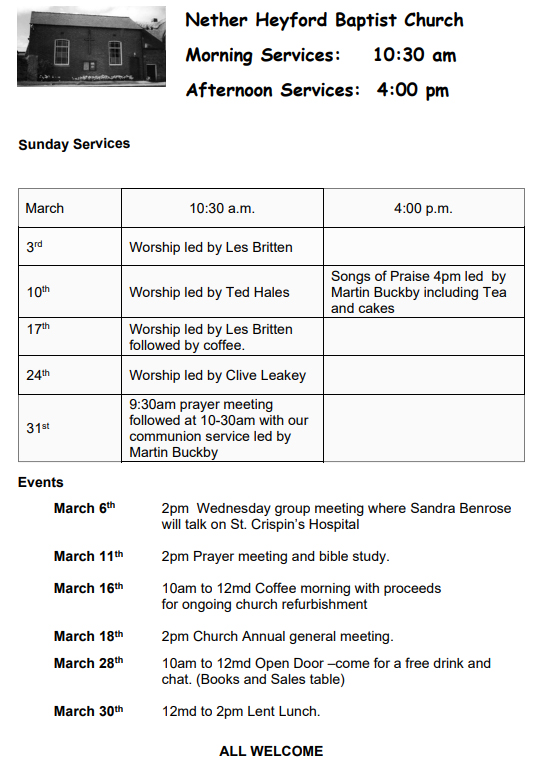Nether_Heyford_Baptist_Chapel_Services-March-2019