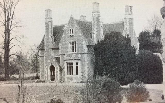 NetherHeyford_VintagePostcards_HeyfordLodge_OldRectory
