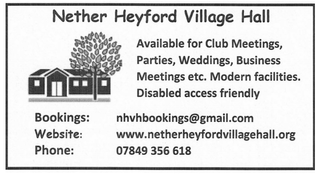 Nether_Heyford_Village_Hall_Book_2019