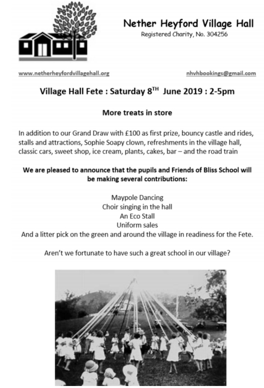 NetherHeyford_VillageHall_Fete_May_2019
