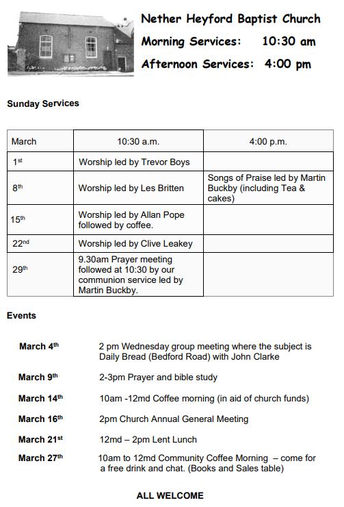Nether-Heyford-Baptist-Chapel-March2020