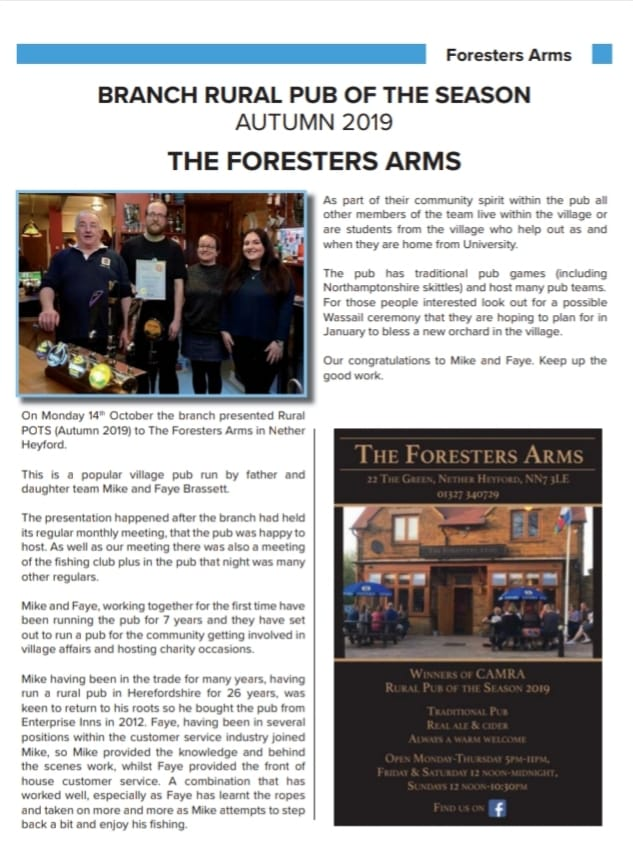 Foresters Pub