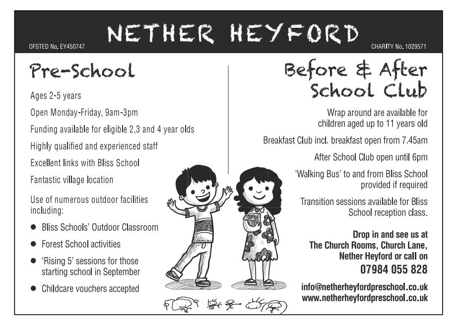 NetherHeyfordPreSchoolMay2021